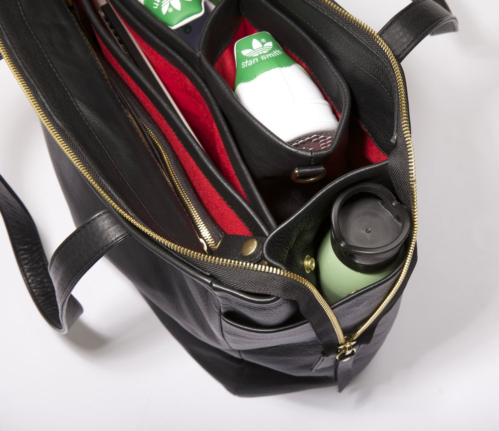 Detachable Compartments - Attach or detach compartments based on your day, the grab and go bag, laptop case or shoe compartment easily appear or disappear based on your schedule.