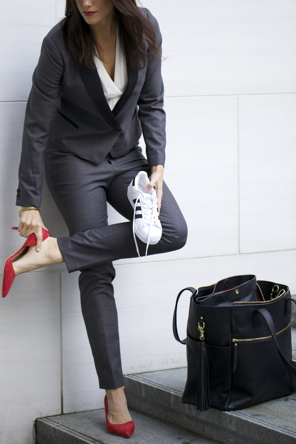 The Daily Commute - From the airport to work, from work to the gym or a last minute lunch date your shoe game is covered.