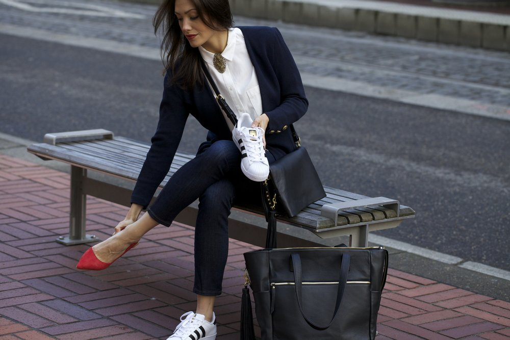Versatility - Work, travel, gym, babies or a weekend get away.. this beautiful bag quietly functions based on your needs