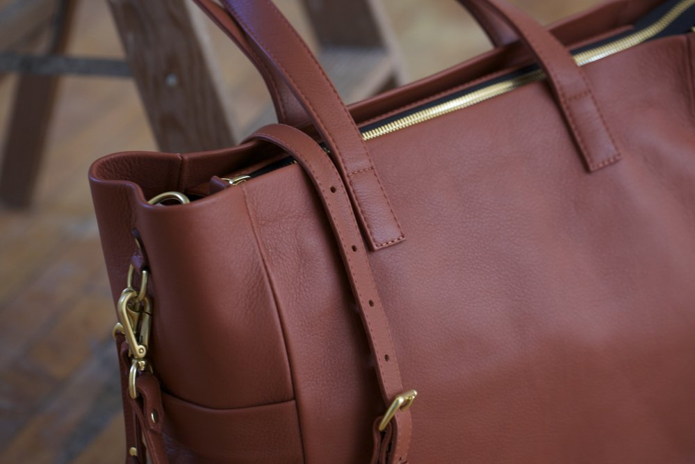 All TAH bags are made from Full Grain Leather