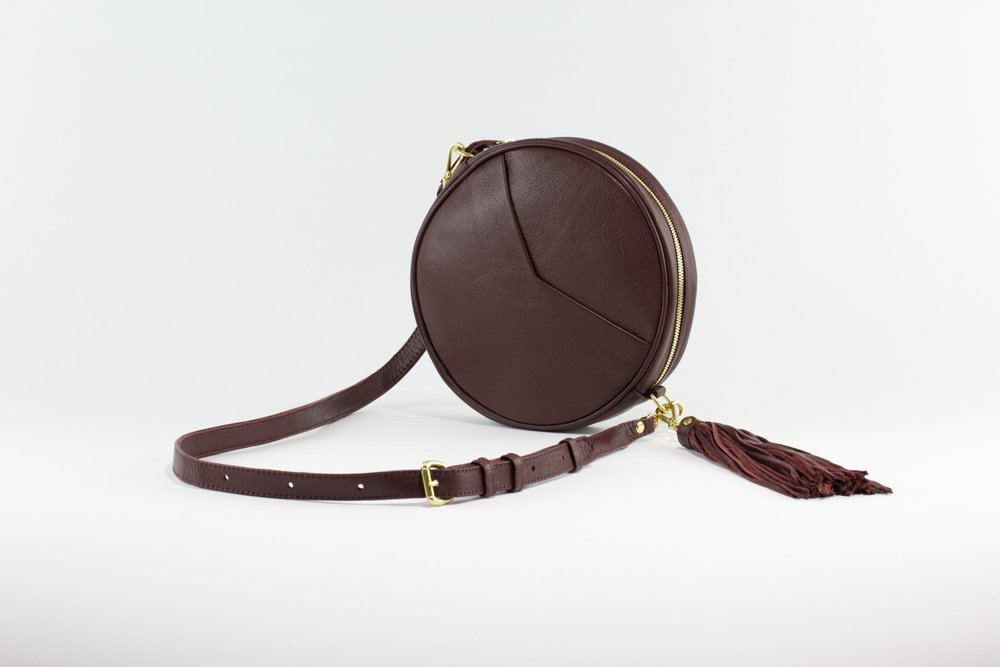 Circle Bag- Burgundy