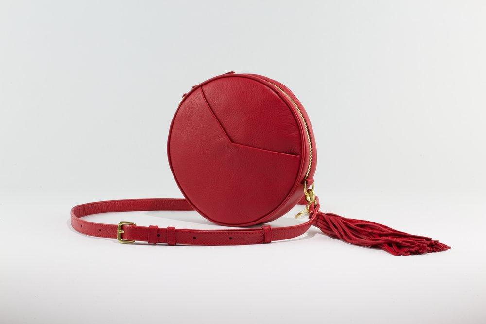 Circle Bag- Red
