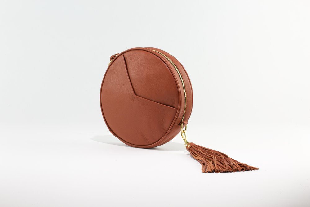 Circle Bag- Whiskey