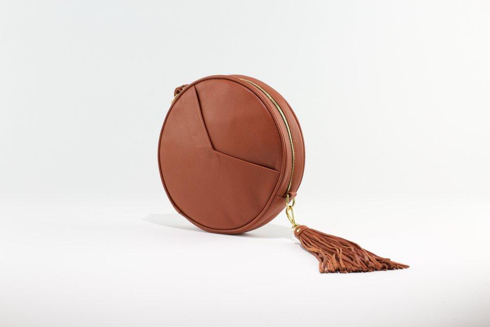 Circle Bag- Whiskey