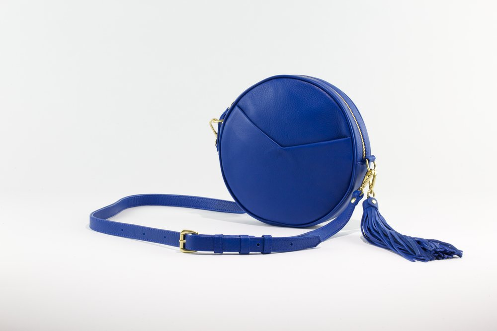 Circle Bag- Electric Blue
