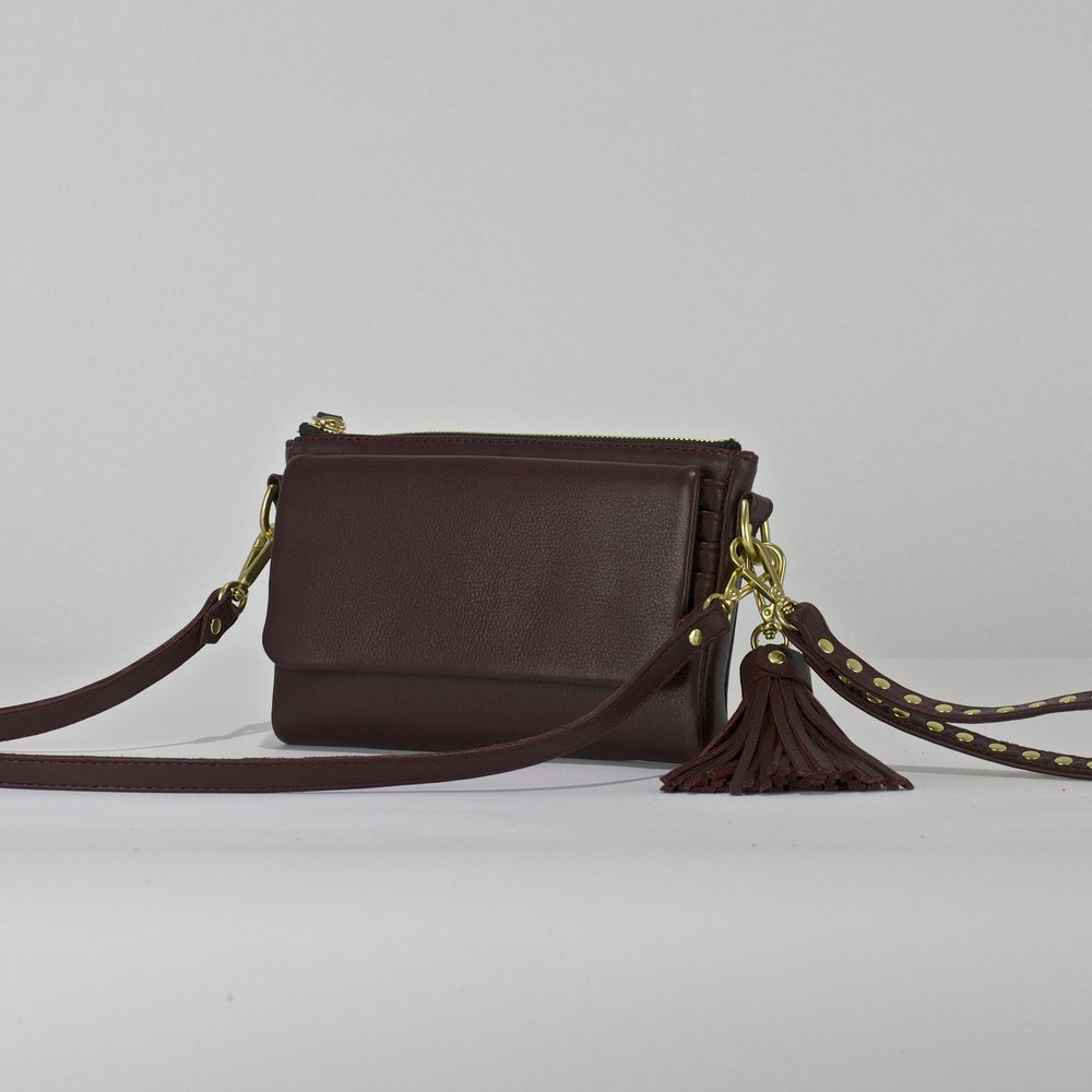 WT Wallet- Burgundy