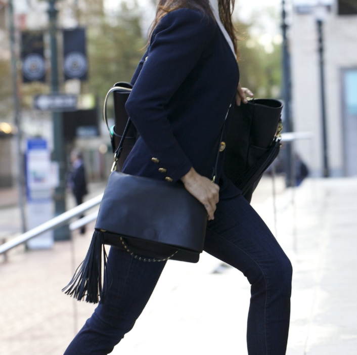 The Everyday Clutch - A Clutch, Backpack, Slim Tote, Shoulder Bag and Crossbody