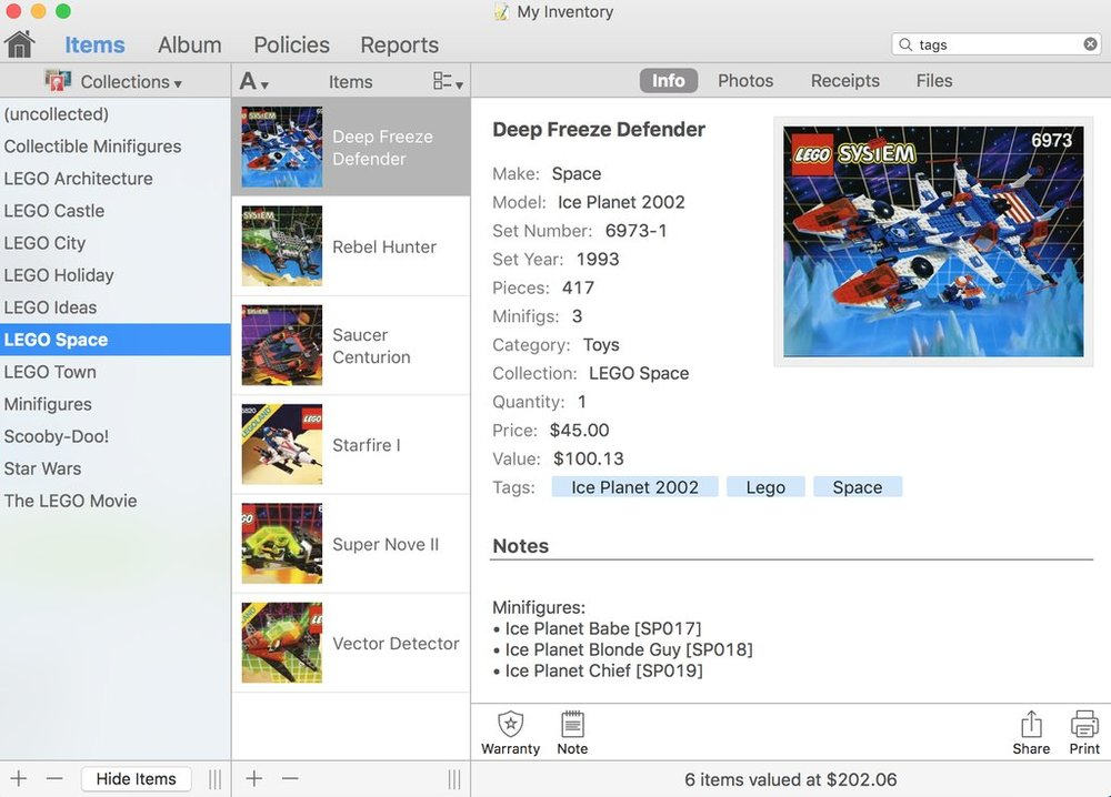 Home Inventory The Best Way To Catalog Your Lego Collection The