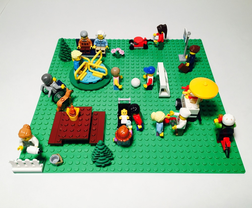 Baseplate Not Included in Set