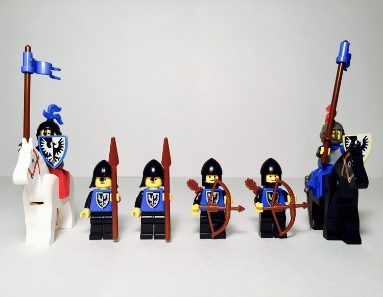 Black Falcon's Fortress Minifigures