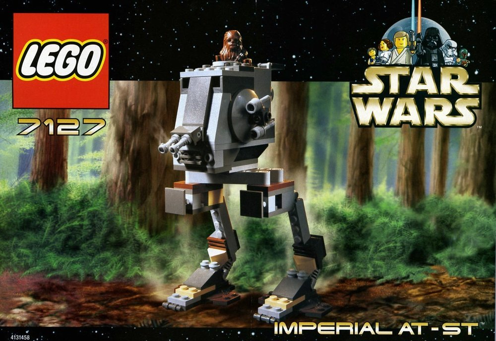 Imperial AT-ST [7127] from 2001 |  ©2001 LEGO Group