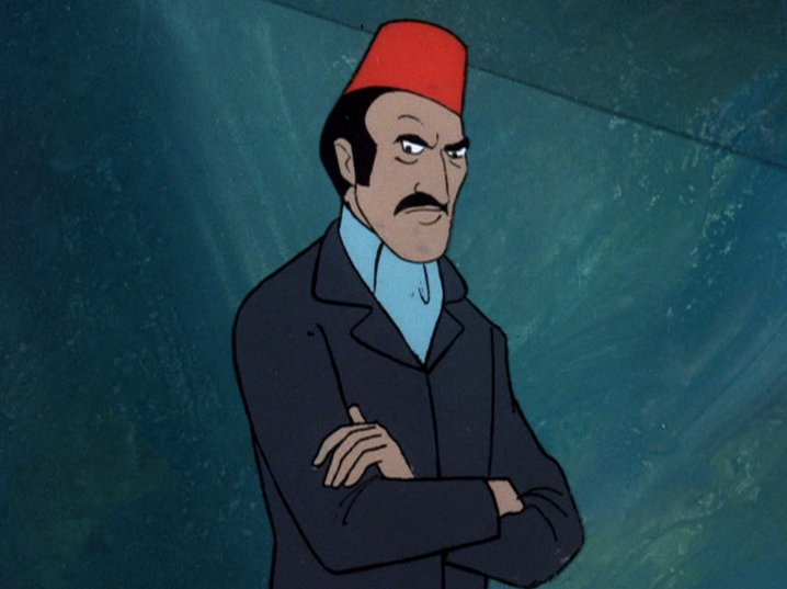 "Dr. Najib in civilian clothes from the Scooby Doo, Where Are You? episode ""Scooby Doo and a Mummy, Too"""