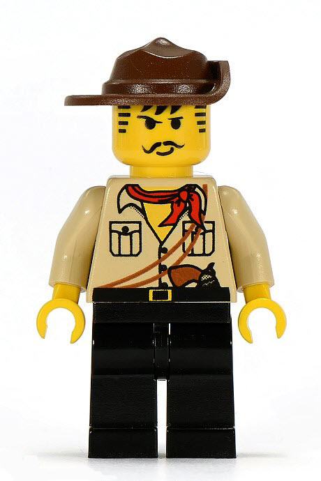 Johnny Thunder minifigure from 1998 | Image ©Brickset.com
