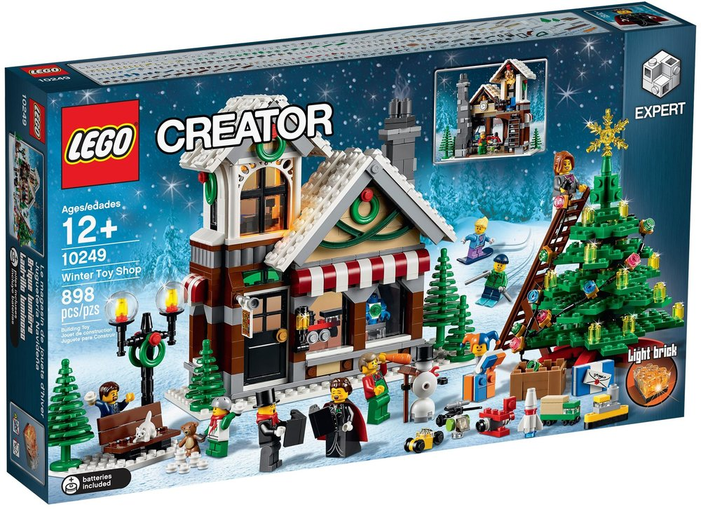 legos seventh release for the winter village line winter toy shop 10249 caused some controversy within the lego community specifically