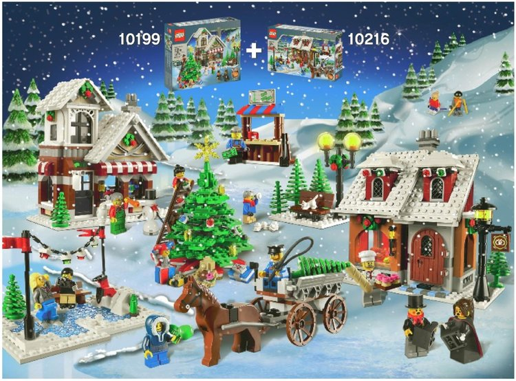 whether or not lego anticipated the winter village series to be a hit this sub theme of the advanced or expert theme has produced one set per year around
