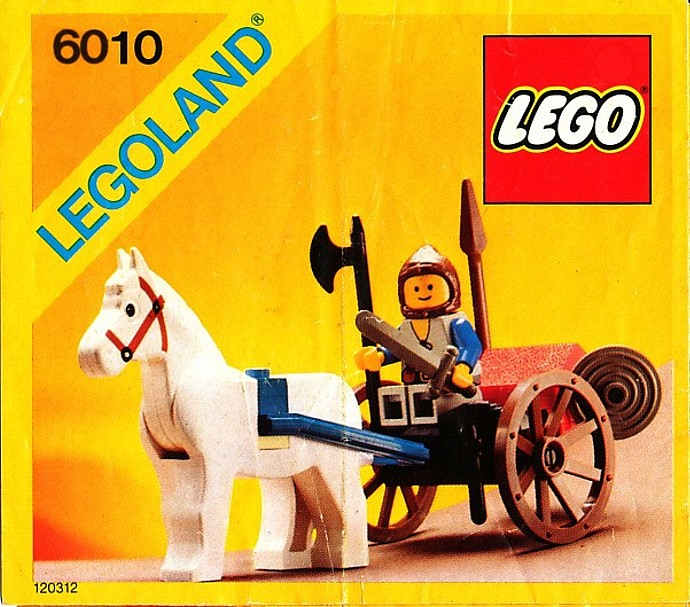 LEGO Castle - Lion Knights - Supply Wagon [6010] from 1984