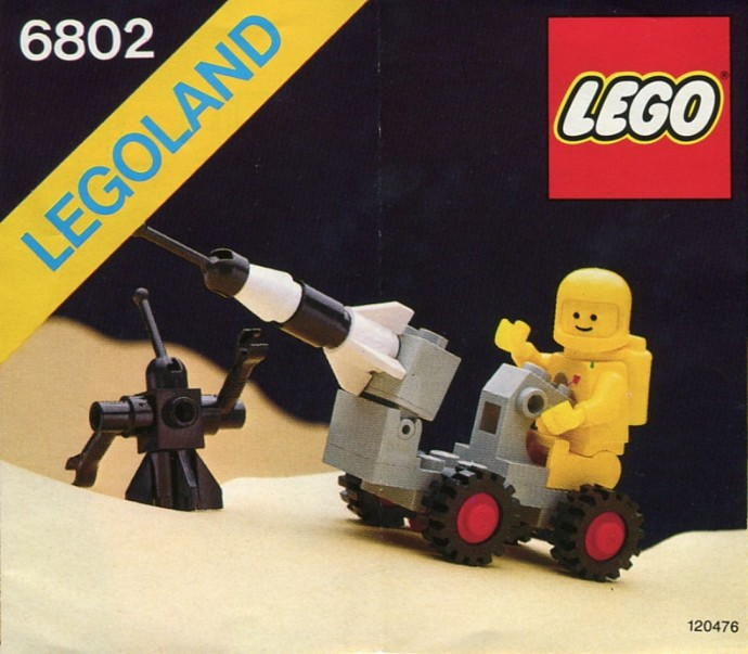 LEGO Space - Space Probe [6802] from 1986