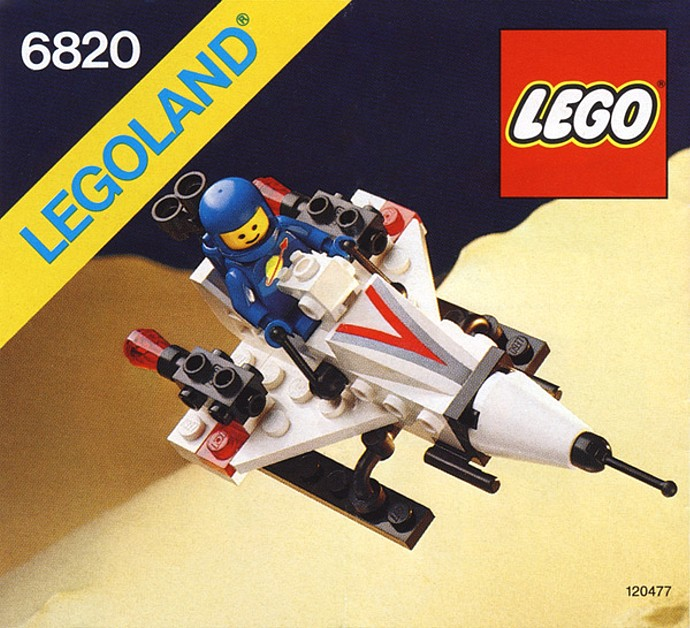 LEGO Space - Starfire I [6820] from 1986