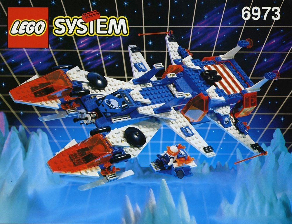 LEGO Space - Ice Planet 2002 - Deep Freeze Defender from 1993