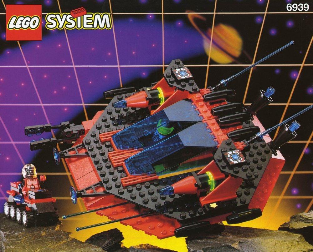 LEGO Space - Spyrius - Saucer Centurion [6939] from 1994