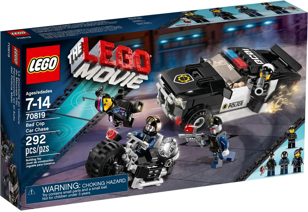 The LEGO Movie - Bad Cop Car Chase [70819]