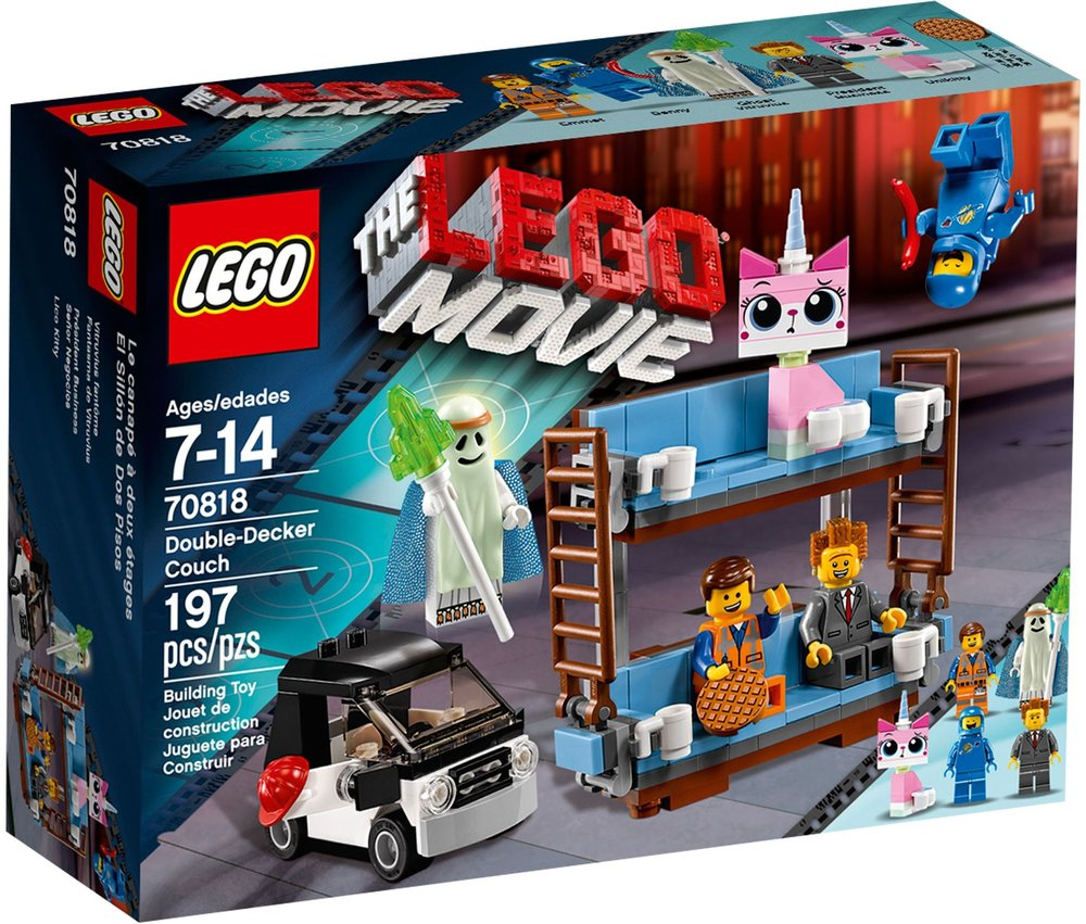 The LEGO Movie - Double-Decker Couch 70818]