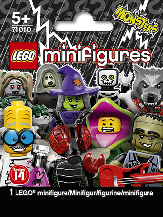 LEGO Collectible Minifigures Series 14 bag packaging