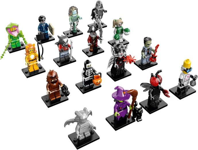 LEGO Collectible Minifigures Series 14 - Complete Set of 16 minifigures