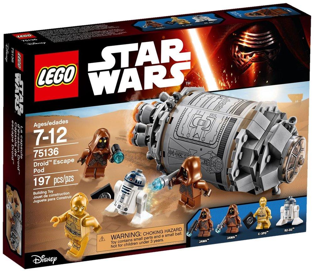 Star Wars - Droid Escape Pod [75136]
