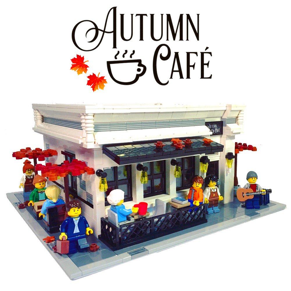 LEGO ideas project Autumn Café