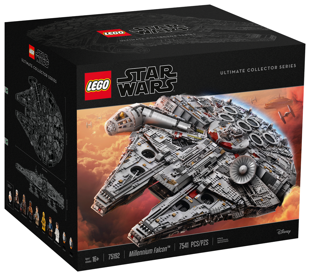Path To The Falcon A History Of The Marketing Behind Legos Largest