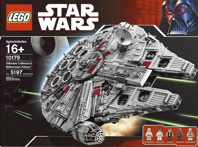 LEGO Star Wars Ultimate Collector Series Millennium Falcon (10179-1) released in 2007