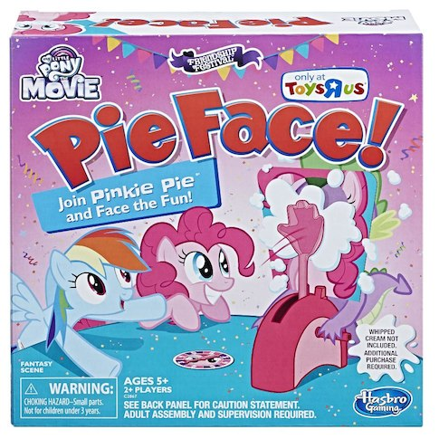My Little Pony The Movie Pinkie Pie Edition Pie Face! Game $15.99