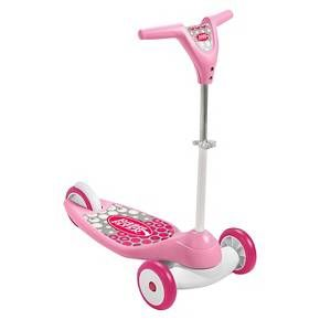 Radio Flyer Grow with Me My First Scooter, Sparkle Pink $29.99