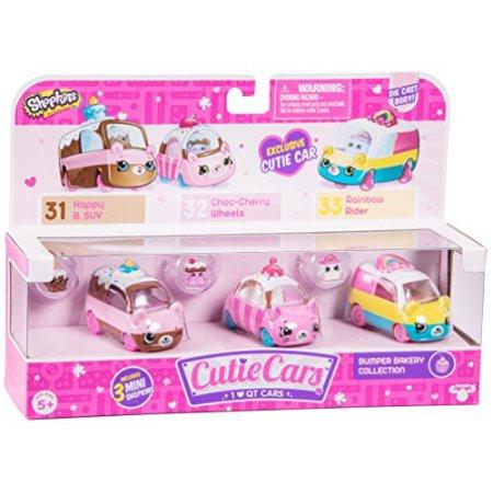 Shopkins Cutie Cars, 3 Pack, Bumper Bakery $12.99
