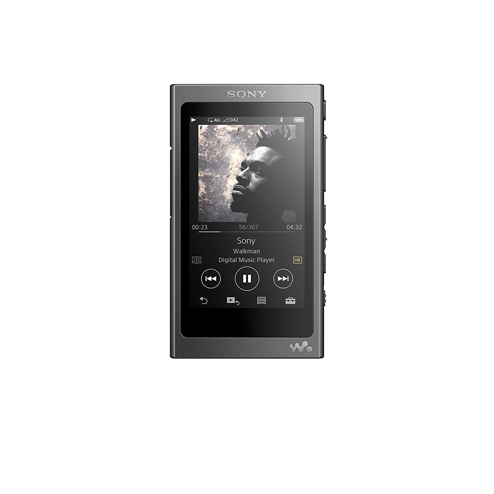 Sony NW-A35 16GB Walkman - Digital Music Player with Hi-Res Audio, Charcoal Black (2017 model) $218.00