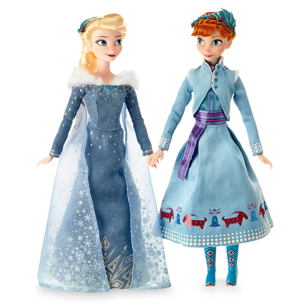 Anna and Elsa Classic Doll Set - Olaf's Frozen Adventure $34.95