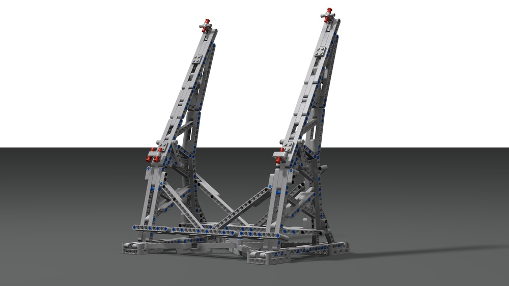 Efferman's Vertical Stand for Millennium Falcon 75192