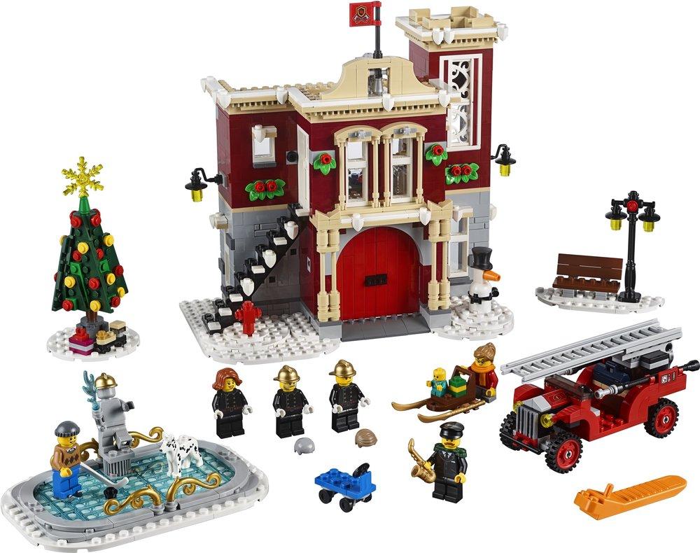 Winter Village Fire Station [10236]