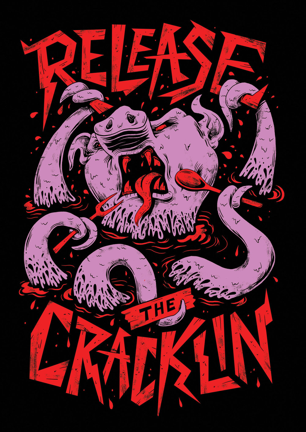 Release the Cracklin Shirt Design