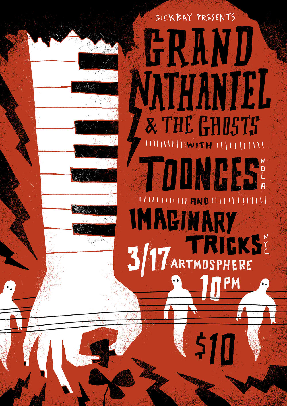 Grand Nathaniel & the Ghosts