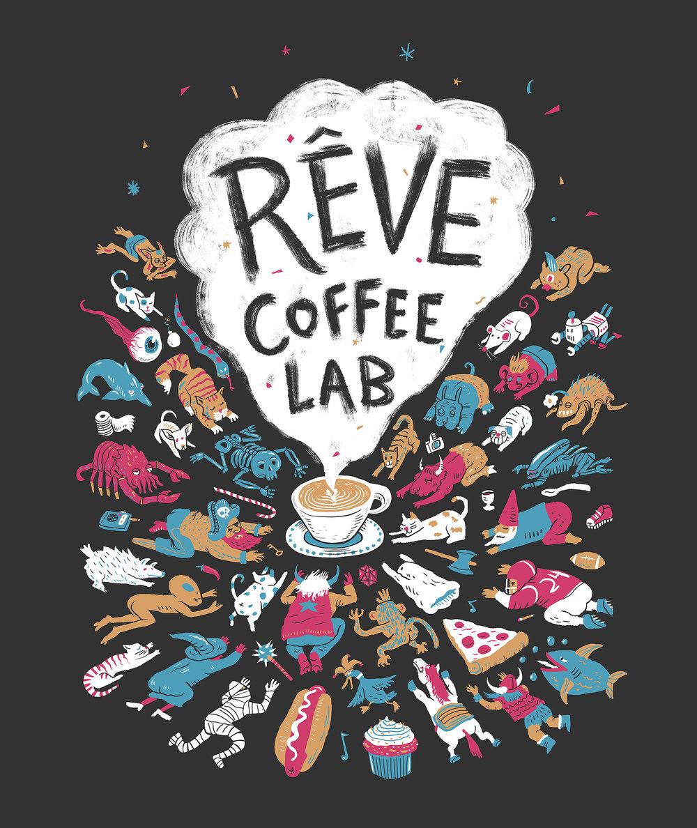 Rêve Coffee Lab Shirt