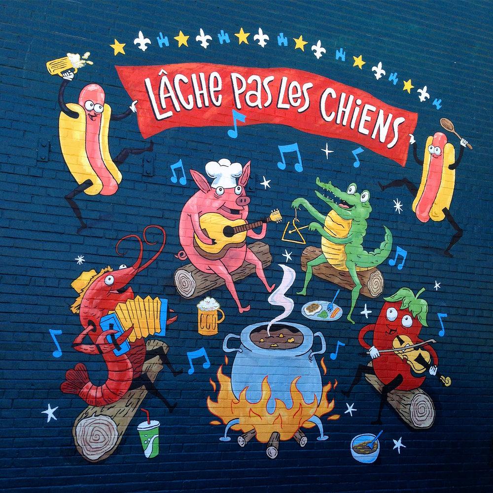 Dat Dog Mural