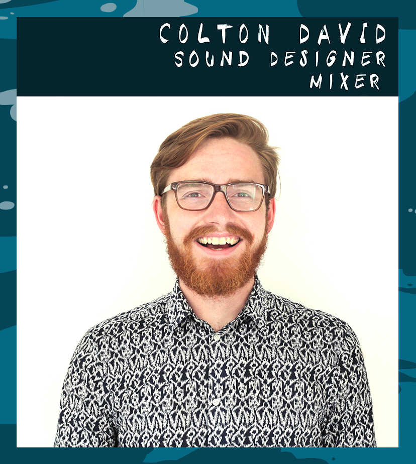 Colton David is a sound designer, mixer and composer specializing in film, video games and audio restoration. He likes cheesy pretzels, 3rd wave ska... and also having fun.