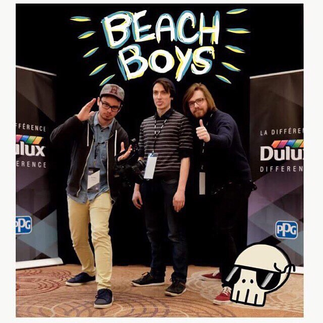 Contrary to popular belief we are the REAL beach boys! - - - #beachbody #beachboys #petsounds #surf #team #sqaudgoals #crew #crewlife #portrait #videoproduction #videomaking  #production #cinematography #grip #setlife #startup #filmmaking #filmmaker #evil #evilbeach #torontolife #director #directorofphotography #downtowntoronto #wethenorth #editor #behindthescenes #musicvidep #creatives