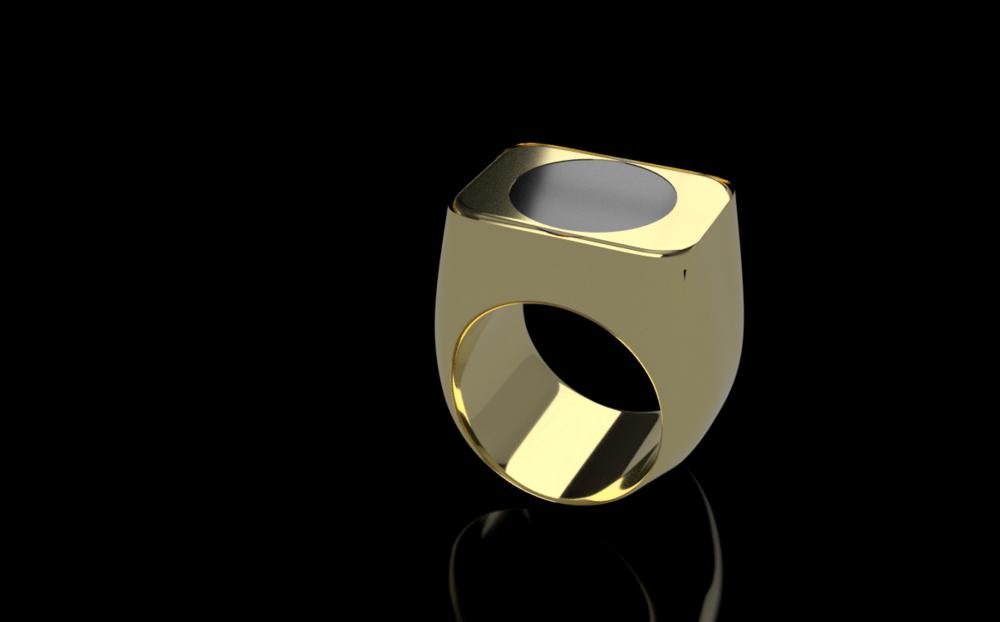 18carat gold ring