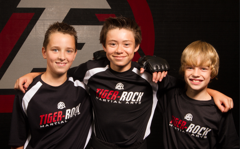 WE'RE WELCOMING Teens in the surrounding area will train together, build relationships together, and enjoy an overall constructive, positive environment at Tiger Rock Martial Arts.