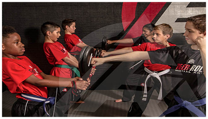 A GREAT ENVIRONMENT Our world-class Tiger-Rock Martial Arts Instruction team ensures your child will be training in a safe, fun, and structured environment. We strive to make sure that we make a positive and encouraging impact on your child's life.