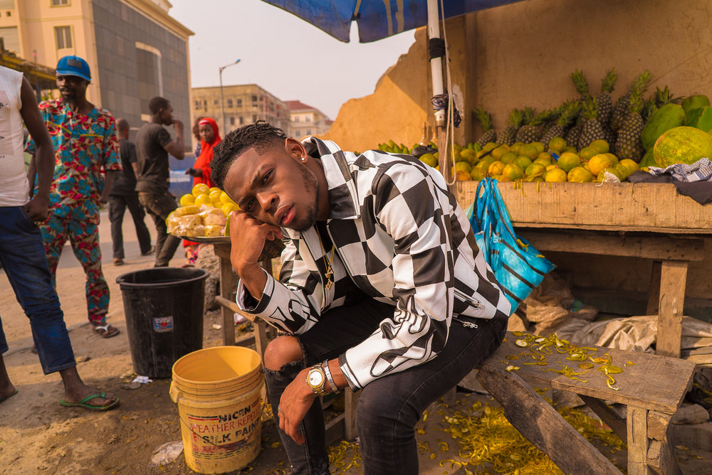 Yxng Bane Has No Other Competition But Himself - Feature story written and shot by Amarachi Nwosu talking to Afro-swing star Yxng Bane for Okayafrica.