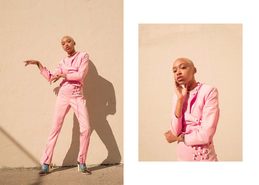 Andrea Valle: Your new WCW on Philly support and the London scene - Feature story written and shot by Amarachi Nwosu talking to Philly based model and musician Andrea Valle for Wonderland Magazine.